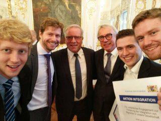 Integration Prize Group Selfie
